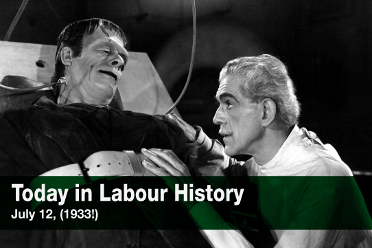 Today in Labour History