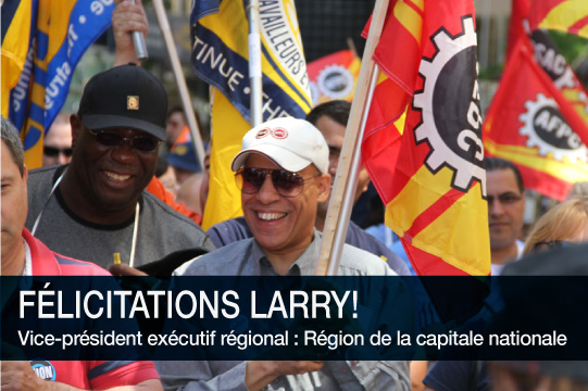 Félicitations Larry