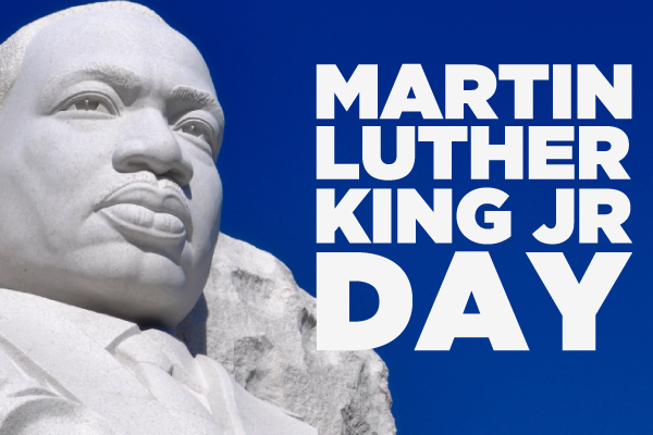 Today Martin Luther King Today is Martin Luther King