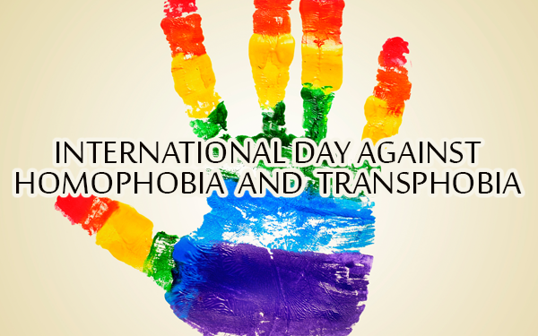 May 17- International Day Against Homophobia and Transphobia ...